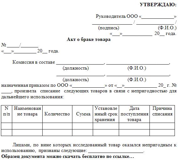 Патент на розничную торговлю бланк